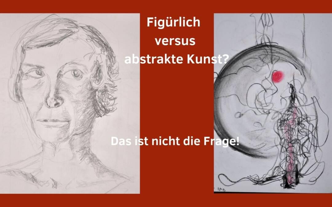 Figürliche versus abstrakte Kunst