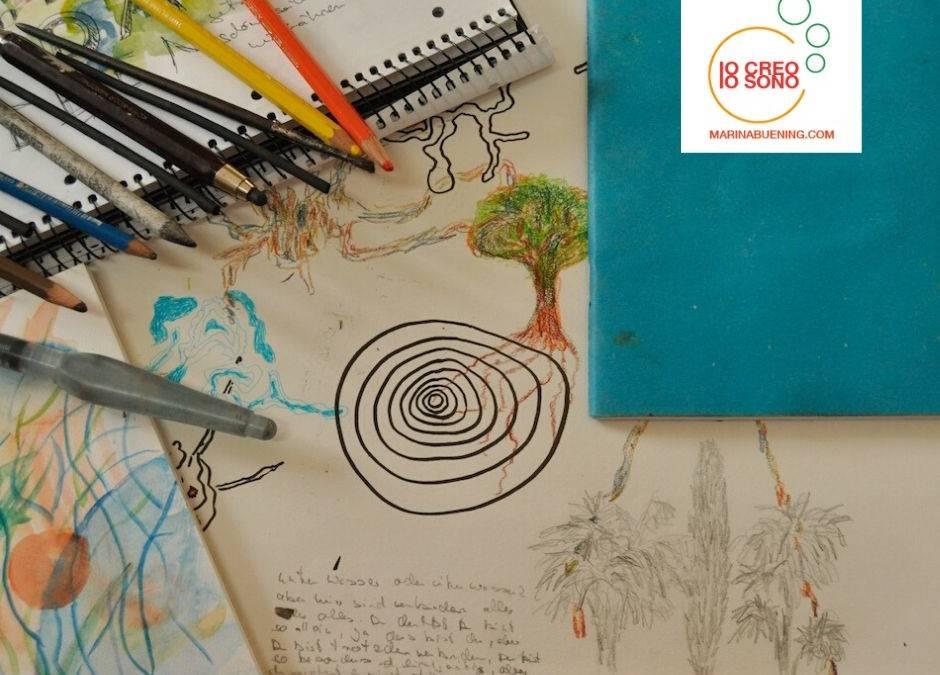 Skizzenbuch führen, kreativ und mit Spass