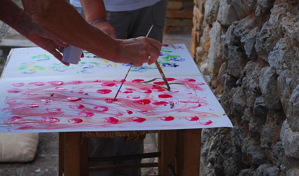 Malen und Zeichnen mit Marina Buening